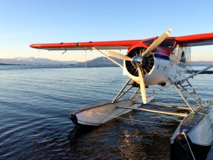 Fly out to the lodge on one of our chartered float planes!