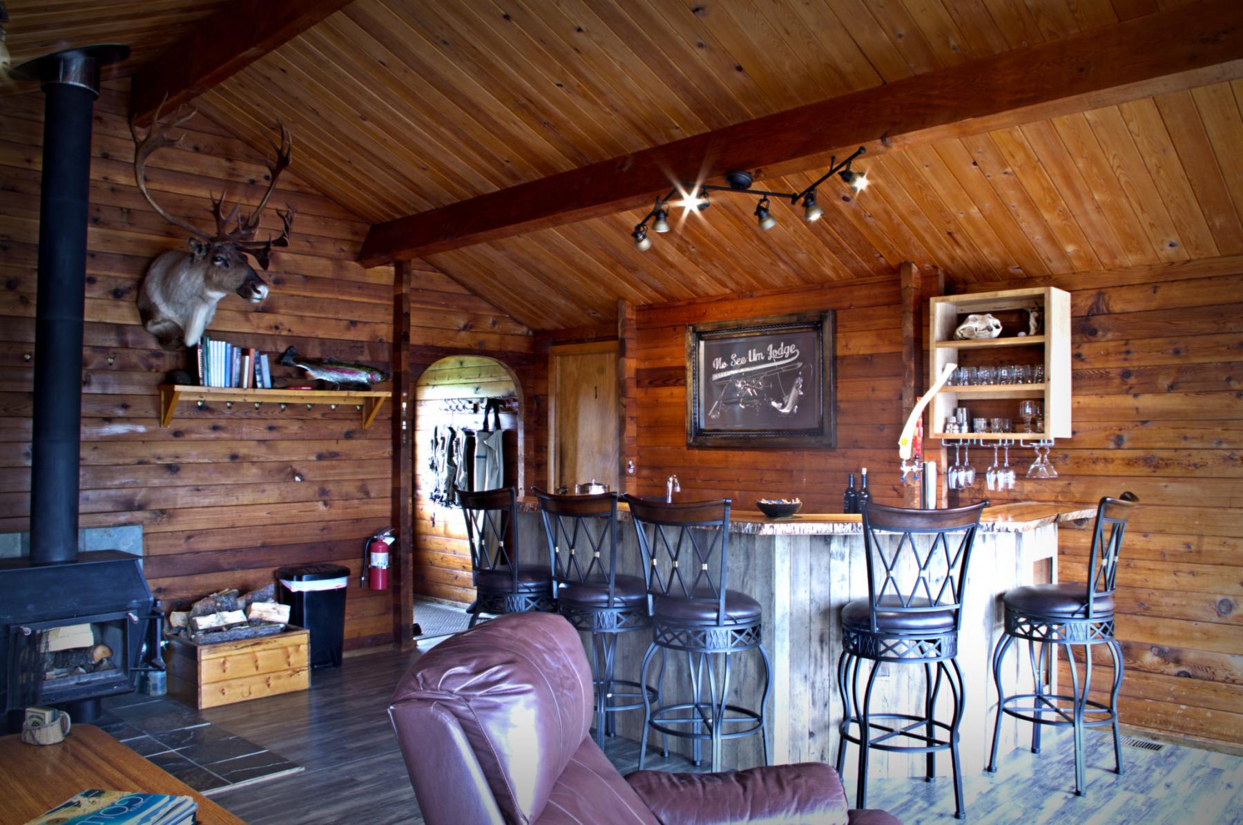 Guest house bar