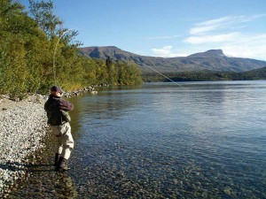 Fly fishing is a timeless tradition in Alaska.