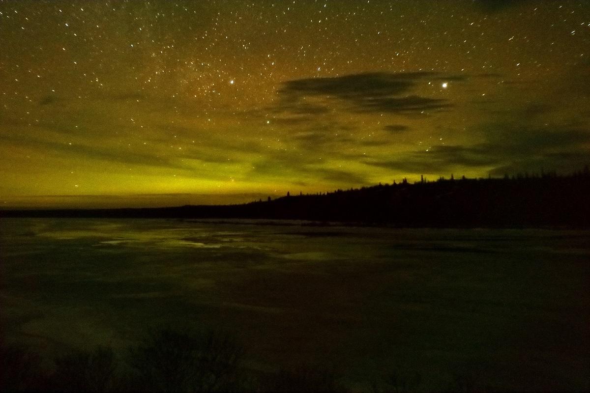 Alaska Northern Lights Yellow