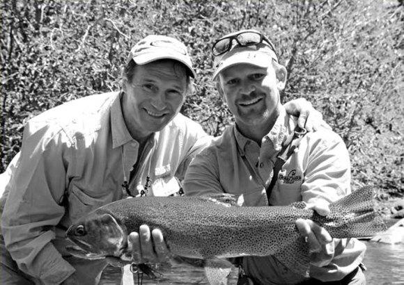 Liam Neeson Fishing