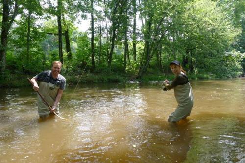Reba McEntire Fishing