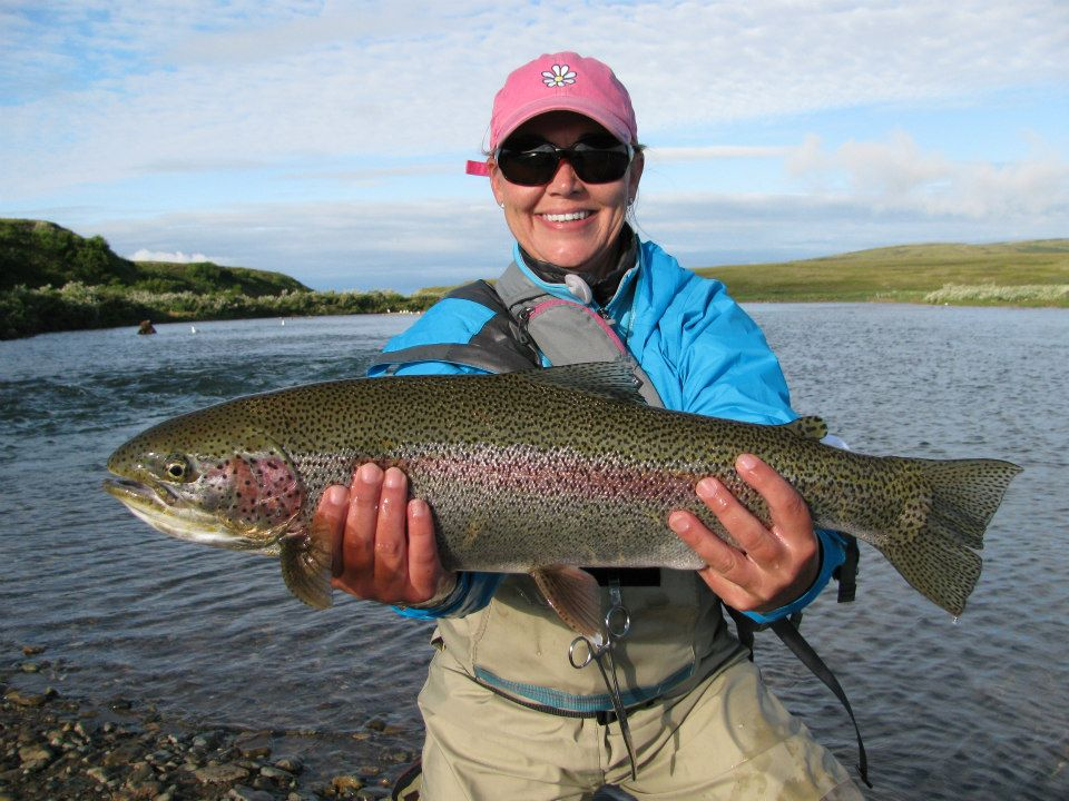 Alaska Rainbow Trout Fly Fishing Trips